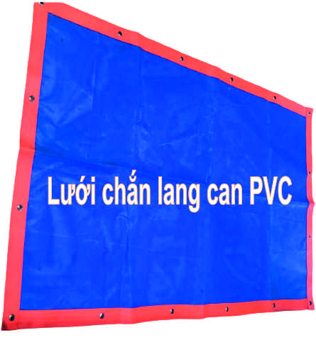 lưới chắn lang can PVC
