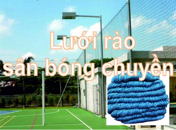 lưới rào sân bóng chuyền